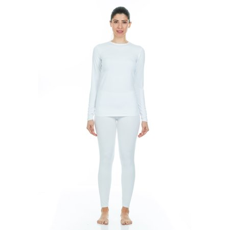 9037a182963 Thermajane - Thermajane Women s Ultra Soft Thermal Underwear Long Johns Set  With Fleece Lined (X-Small