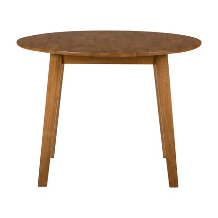 Benzara Honey Brown Drop Down Leaf Dining Table (Dining Room Table With Drop Down Sides)
