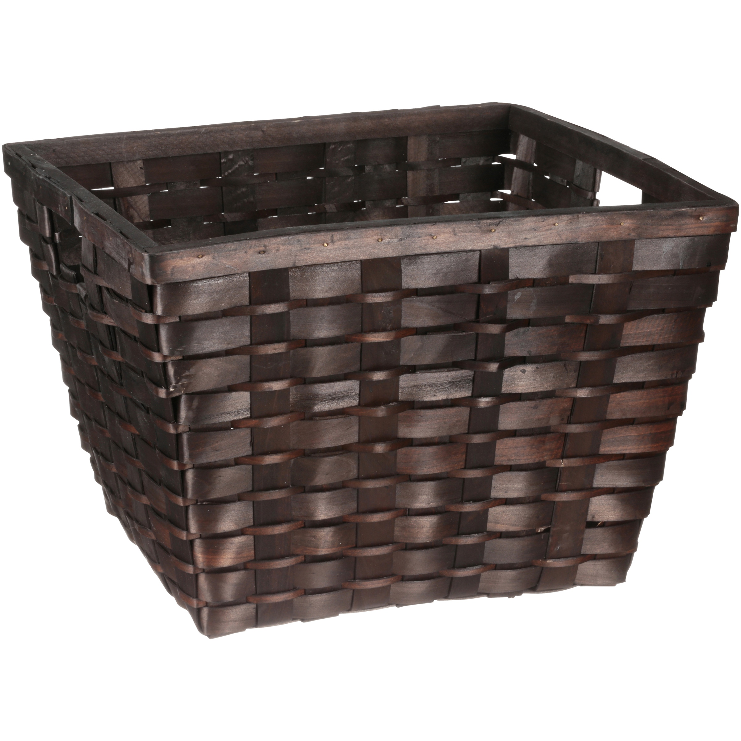 Better Homes and Gardens® Woven Wood Cube Basket
