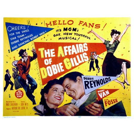 The Affairs Of Dobie Gillis Debbie Reynolds Bobby Van 1953 Movie Poster Masterprint (Debbie Reynolds Halloween)