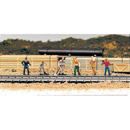 Train Work Crew, HO scale figure set By Bachmann Trains