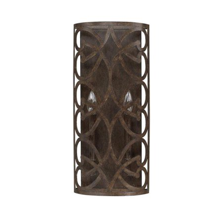Capital Lighting Renaissance - Two Light Wall Sconce, Renaissance Brown - 2 Light Renaissance Bath