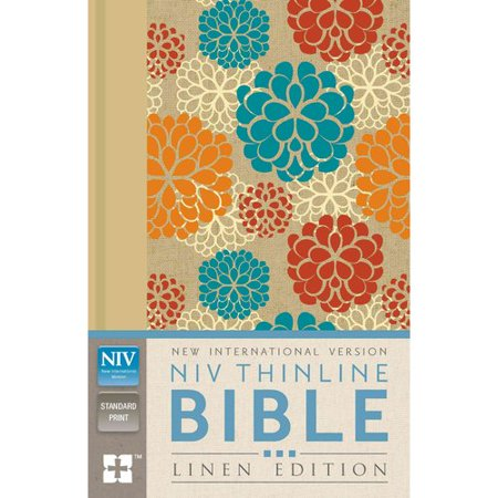 Holy Bible  New International Version  Thinline  Linen Edition