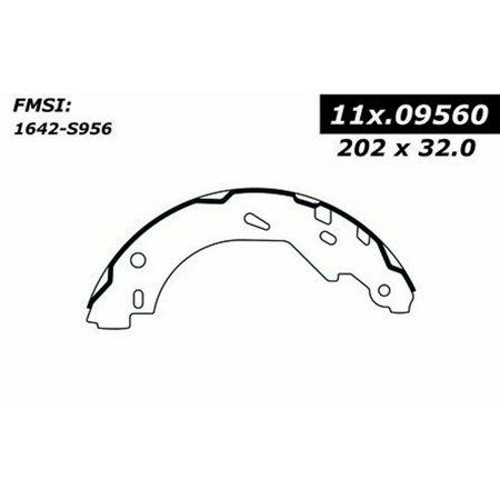Drum Brake Shoe-Premium Brake Shoes-Preferred Rear Centric 111.09560