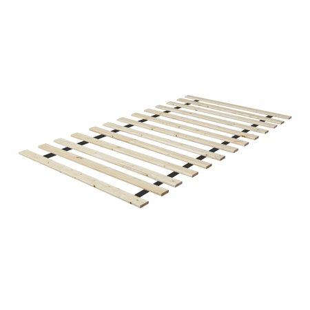 Bunkie Board Mattress (WAYTON, Wooden Bed Slats/Bunkie Board, Queen Size 79