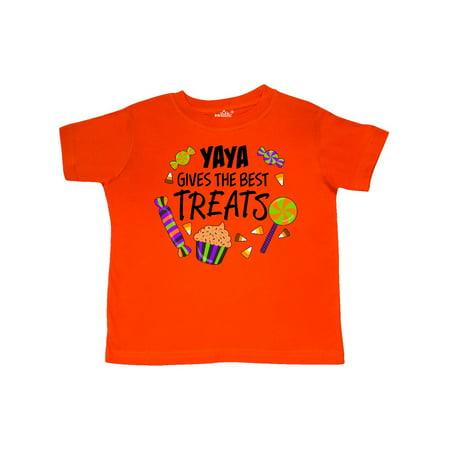 Yaya Gives the Best Treats- Halloween candy Toddler - Best Halloween Treats