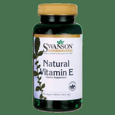 Swanson Natural Vitamin E 200 Iu 250 Sgels ()