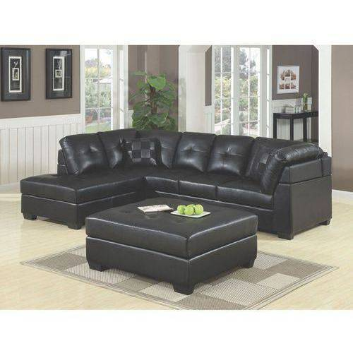 Coaster Company Darie Sectional in Black