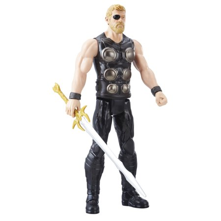 Marvel Infinity War Titan Hero Series Thor with Titan Hero Power FX (Marvel Heroes Best Characters)