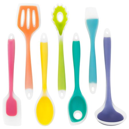Brybelly KUTN-001 Silicone Utensil Set - Pack of 7 - image 1 of 1