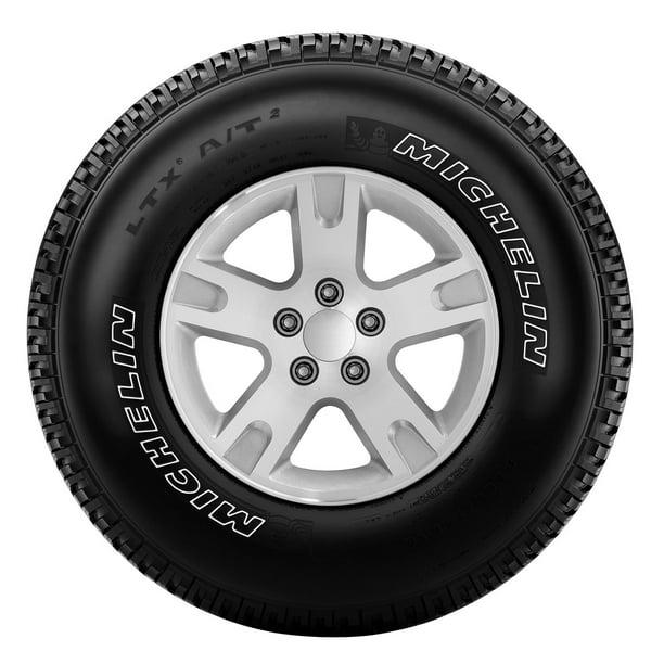 1 X New Michelin LTX A//T2 LT265//70R18//10 124//121R Tires