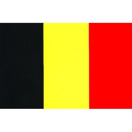 Vinyl Decal- Belgium Flag Sticker - 3.25