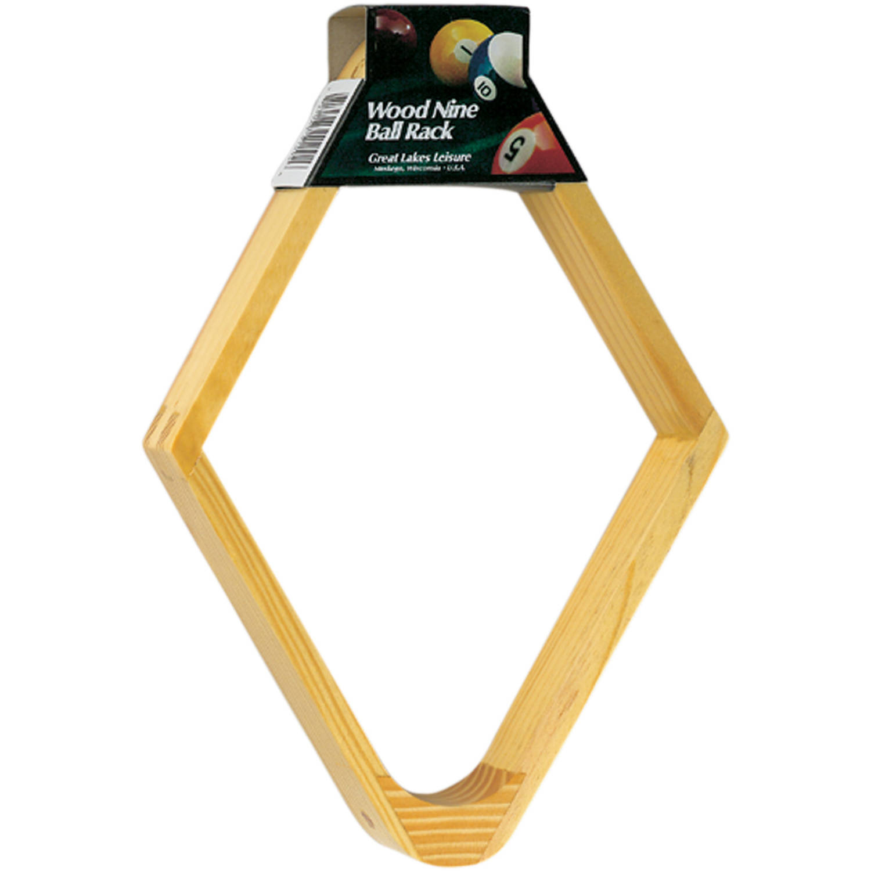 Viper Wood Billiard 9-Ball Rack by Generic