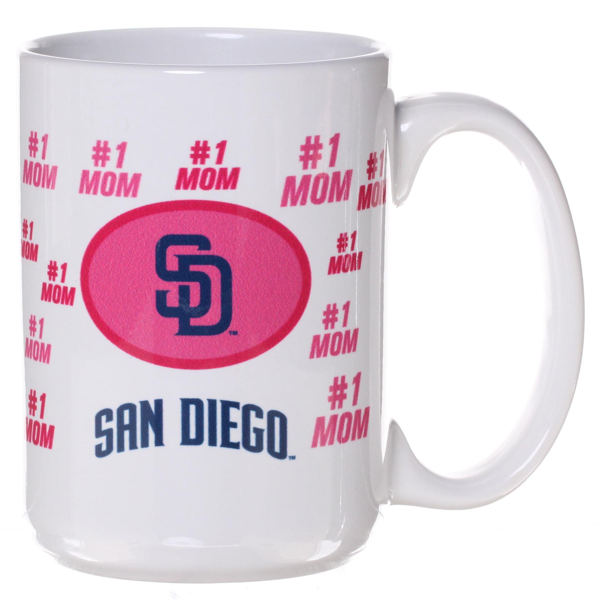 San Diego Padres 15oz. Mother's Day Mug - White - No Size