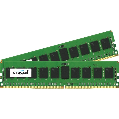 Crucial CT2K8G4RFS4213 Crucial 16GB Kit (8GBx2) DDR4 PC4-17000 Registered ECC 1.2V - 16 GB (2 x 8 GB) - DDR4 SDRAM - 2133 MHz DDR4-2133/PC4-17000 - 1.20 V - ECC - Registered -