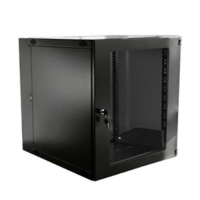 Double Section Lockable Wall Mount Cabinet 15U