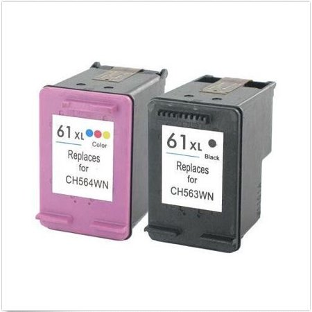 LIVEDITOR 2PK ink For HP 61XL 2512 2540 2542 2547 3000 3050 3050A 3051A 3052A 3054 3056A - image 1 of 1