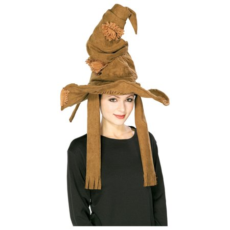 Harry Potter Sorting Hat Adult Halloween Accessory - 80s Halloween Hats