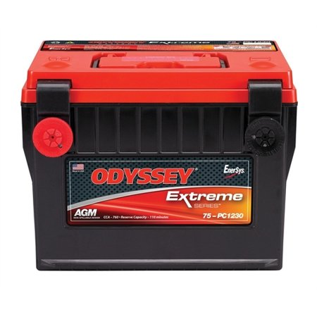 Odyssey Innovative Designs Extreme Series Battery - Group 75 - 1230 PHCA - 730 CCA - 815 MCA - RC Min. 100