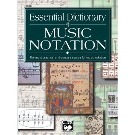 Music Notation Software Reviews - Essential Dictionary of Music Notation : Pocket Size Book