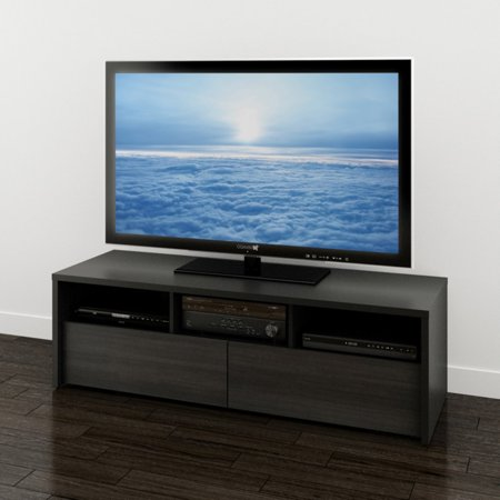 """Sereni-T Black/Ebony TV Stand, for TVs up to 60"""""""