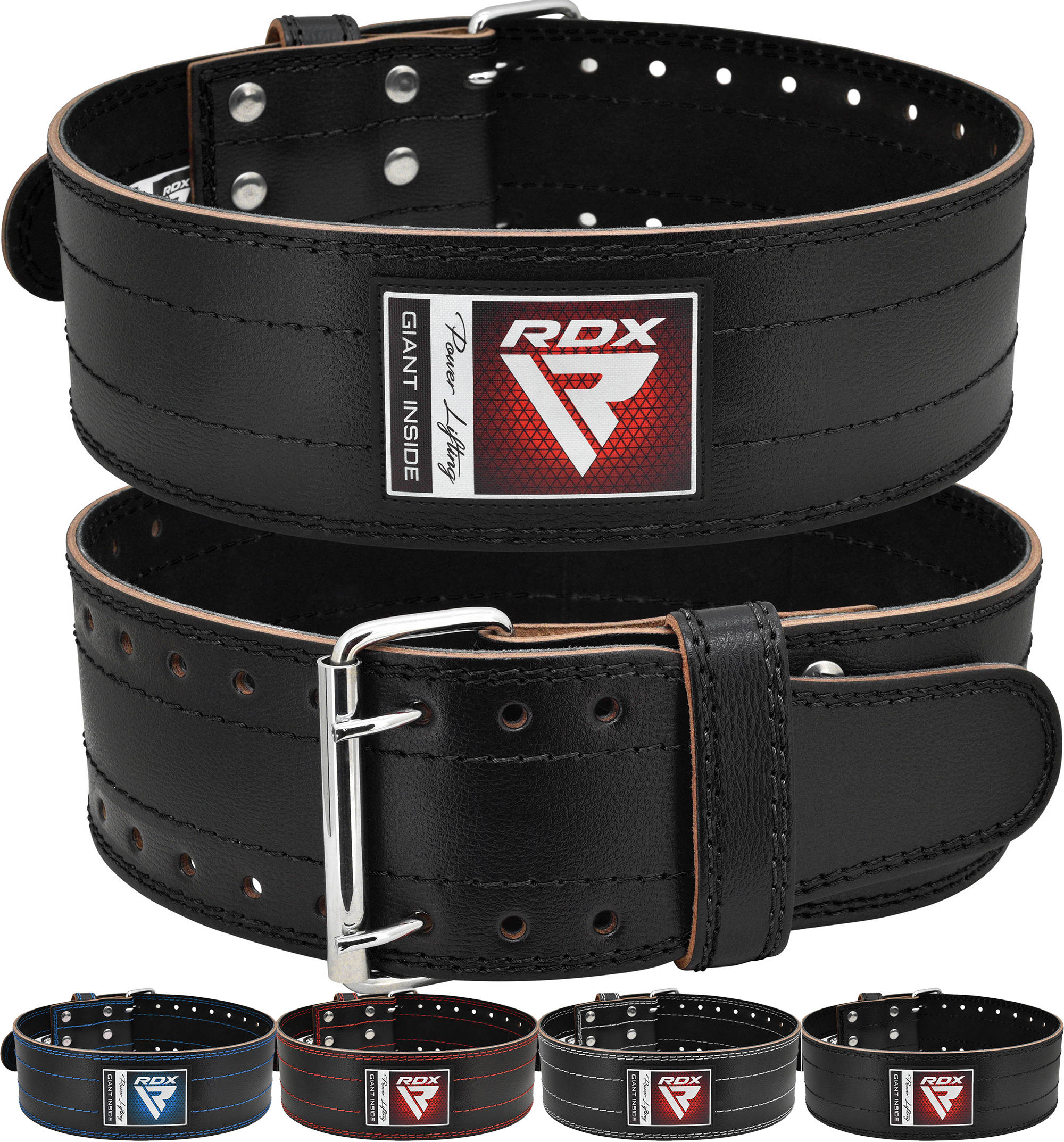 Heavy Leather belts Weightlifting Training Body-Building Gym Power Strength Lift