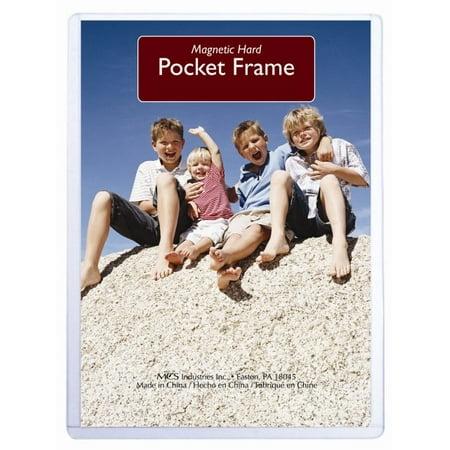 MCS Hard Magnetic Pocket Frame 4x6](Magnetic Photo Pockets)