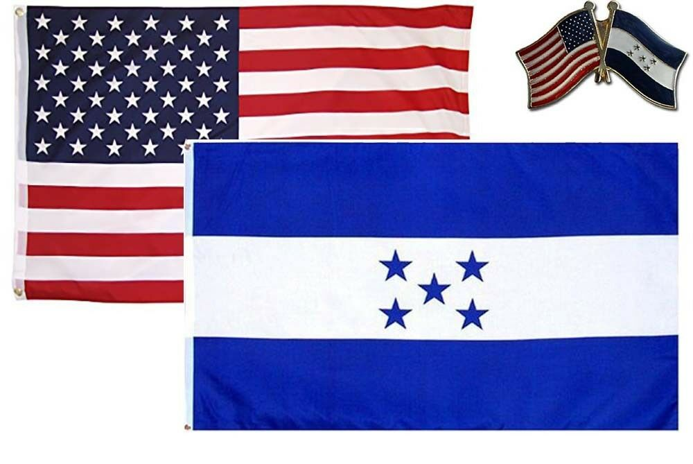 """12x18 Wholesale Lot 3 United Nations Country Stick Flag 30/"""" wood staff"""