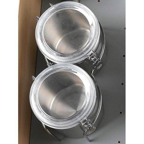 Rev-a-Shelf 5DCH-2-1-CR Canister Set
