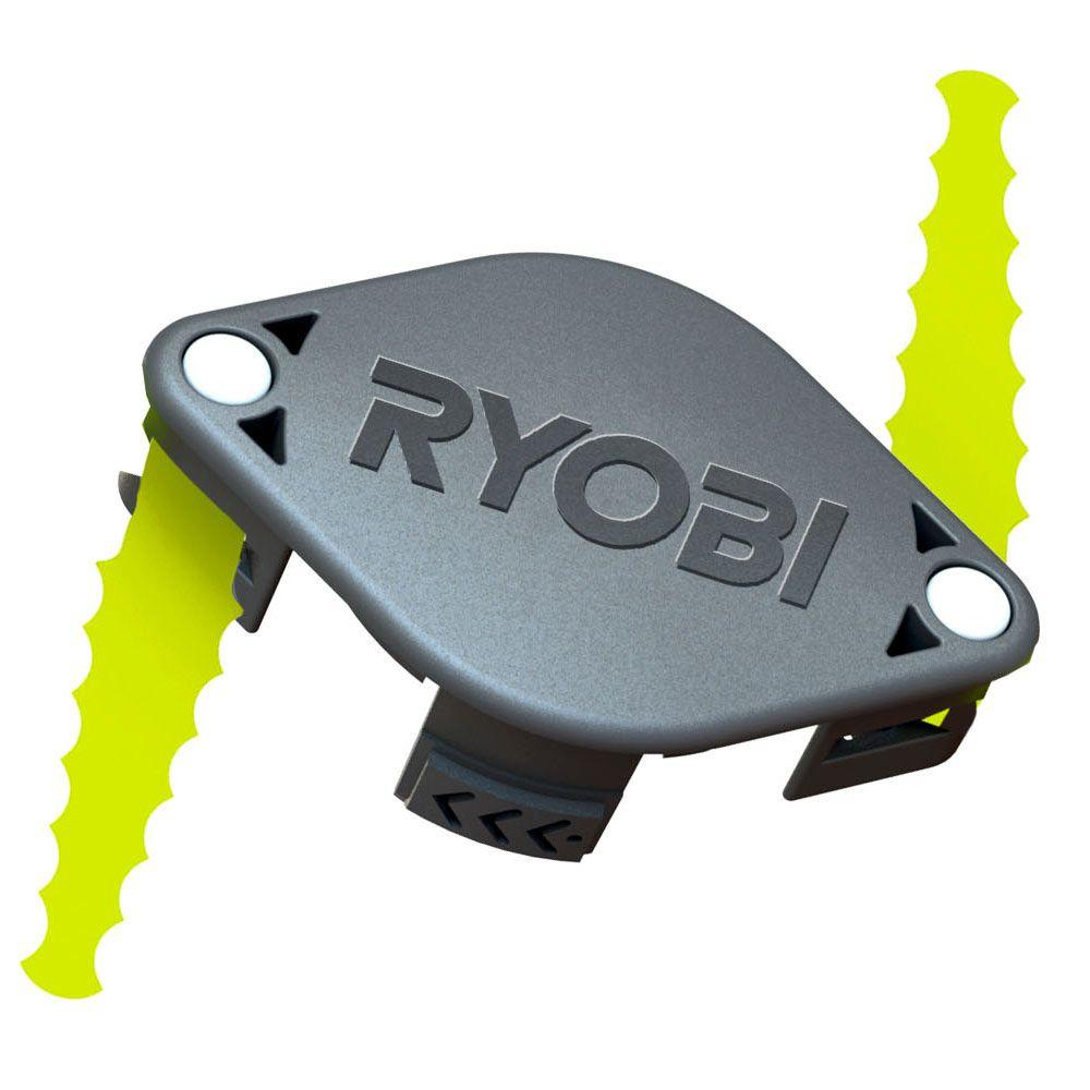 Ryobi Bladed Trimmer Head Brush Cutter Edger Accessories 2-Pack ACFHRL2