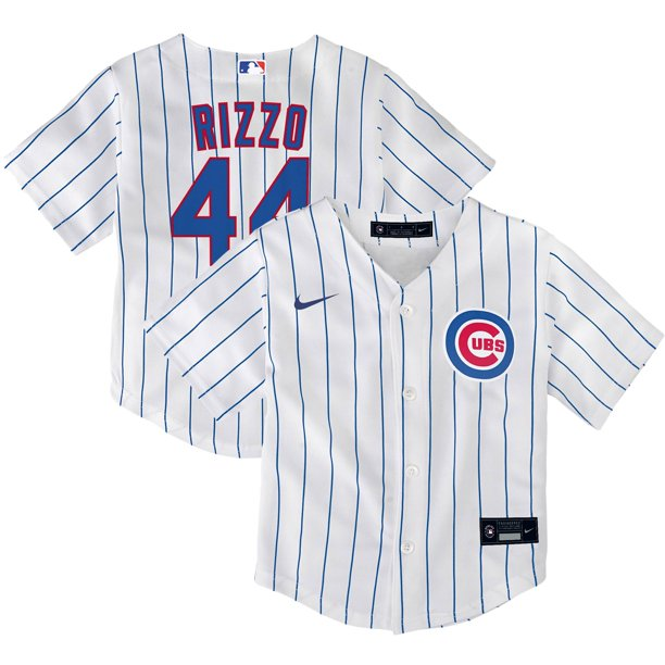 Anthony Rizzo Chicago Cubs Nike Toddler Home Replica Player Jersey - White
