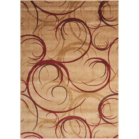 Nourison Somerset Shadow Waves Woven Area Rug, (Runners Shadow)