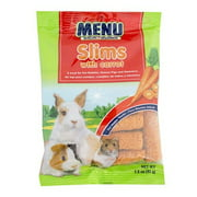 MENU SLIMS WITH CARROT TREAT FOR PET RABBITS, GUINEA PIGS AND HAMSTERS 1.5OZ