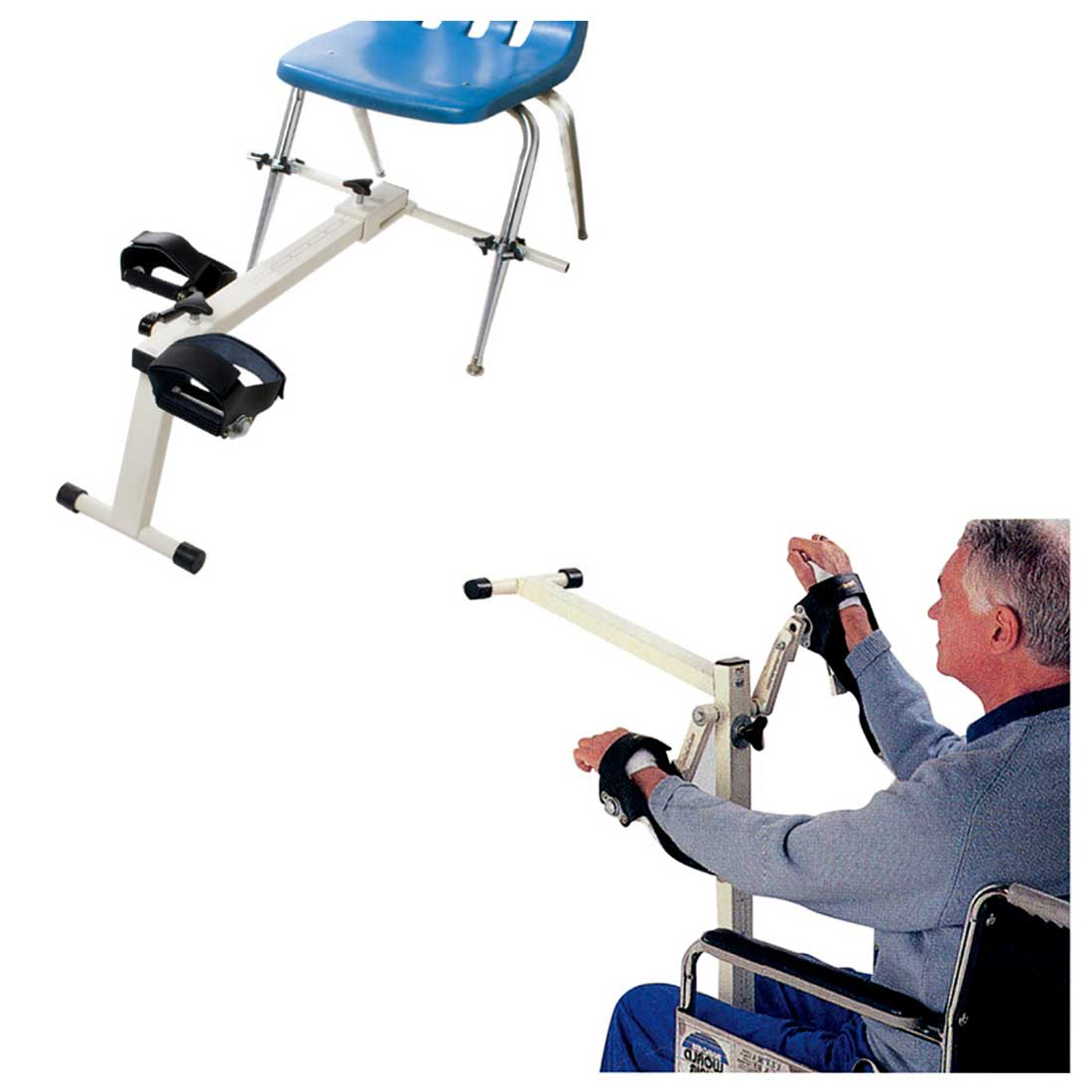 Cando Chair Cycle Pedal Exerciser - Deluxe