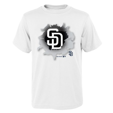 MLB San Diego PADRES TEE Short Sleeve Boys OPP 100% Cotton Alternate Team Colors 4-18](Costume San Diego)