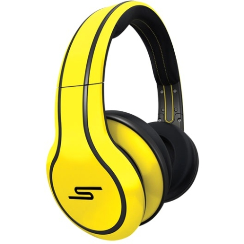 Sms Audio Street By 50 On-ear Headphones - Stereo - Yellow - Wired - Gold Plated - Over-the-head - Binaural - Circumaural (sms-onwd-sprt-ylw)