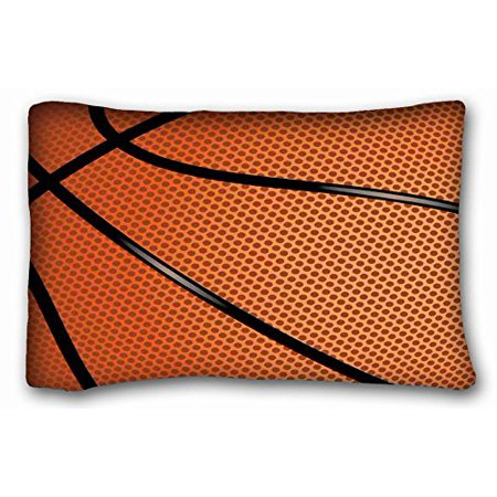 WinHome Basketball Sports Themed Pillow Case Size 20x30 inches Two Sided Print](Cool Basketball Themes)