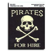 Pirates for Hire Decal