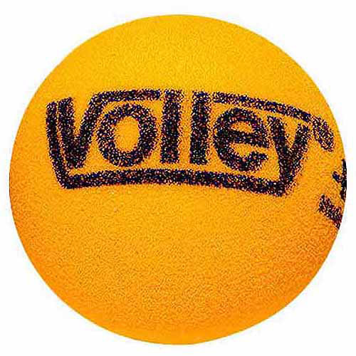"Sportime Volley Uncoated Foam Ball, 6"", Yellow"