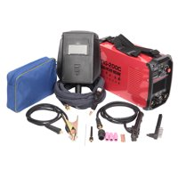 Dual Voltage 110V / 220V Inverter DC 200AMP Manual Welding Argon Arc Welding Dual-Purpose Welding Machine