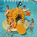 Swimline Vinyl Pirate Inflatable Play Center Pool Float
