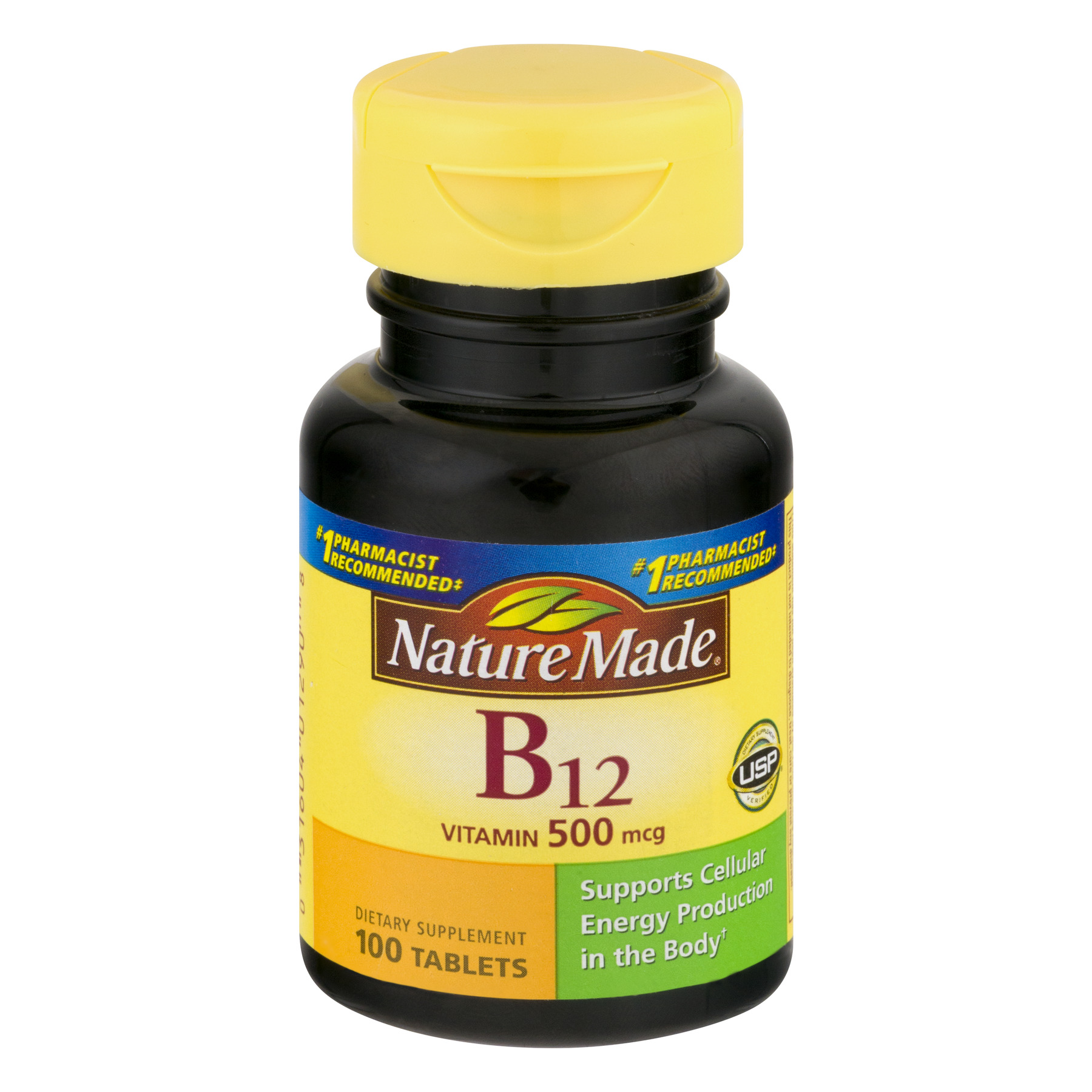 Nature Made Vitamin B12 Tablets - 100 CT100.0 CT