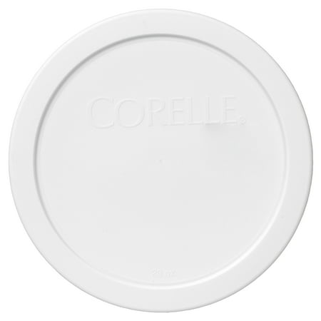 White Round Covered Vegetable Bowl (Corelle Replacement Lid 428-PC 6.5
