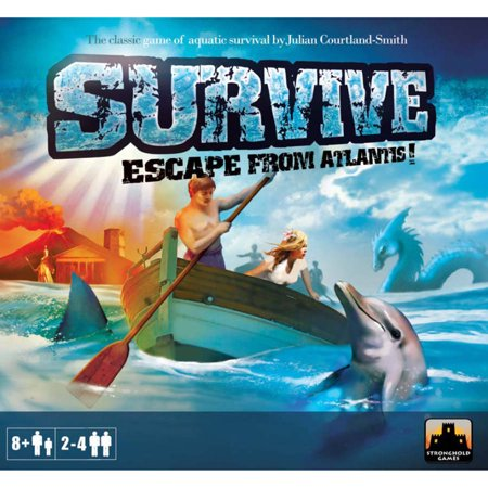 Survive Escape From Atlantis 30th Anniversary - Halloween Escape Games