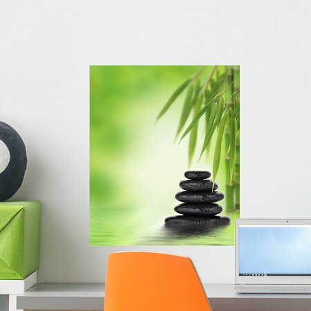 tranquil zen design with wall muralwallmonkeys peel and stick