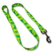 Strapworks SL34-6FT 0. 75 W inch Standard Leash Collegiate Line - Oregon, 6 ft.