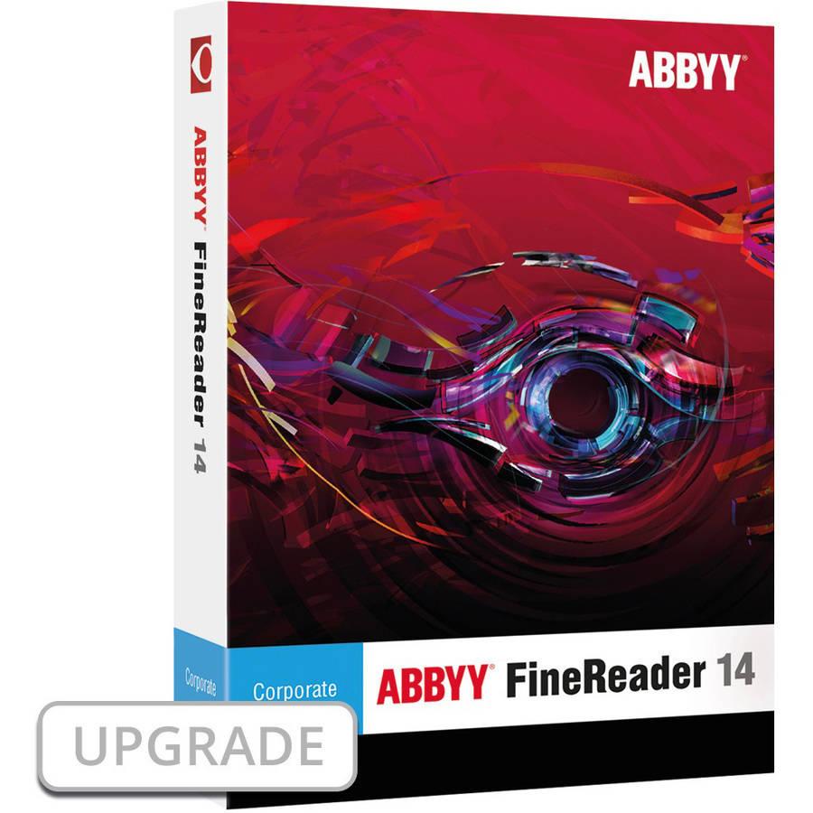 Image of ABBYY FRCUW14E ABBYY FineReader 14 Corporate Upgrade ESD (Digital Code)