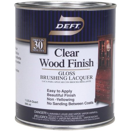 - Deft Interior Lacquer, Clear Wood Finish