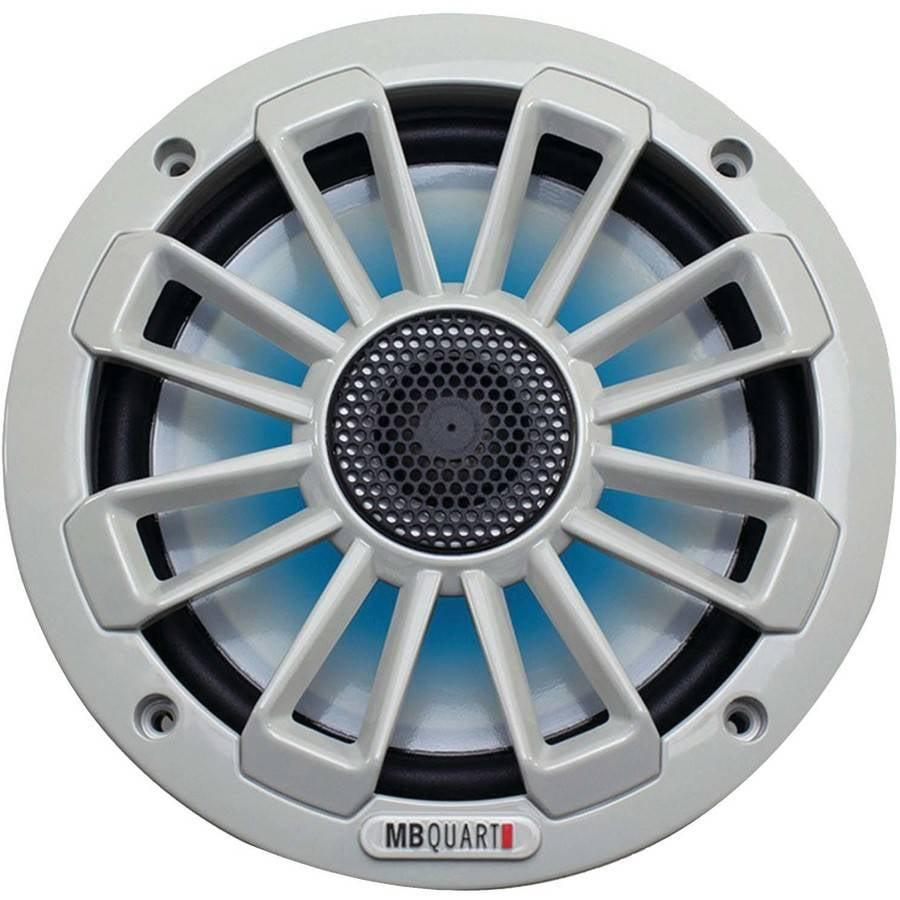 """MB QUART NK1-116L Nautic Series 6.5"""" 120-Watt 2-Way Coaxial Speaker System, with LED Illumination"""
