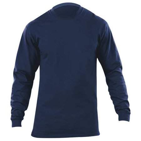 Station Wear Long Sleeved Shirt, Fire Nvy, Ctn, L 5.11 TACTICAL 5.11 Tactical Station